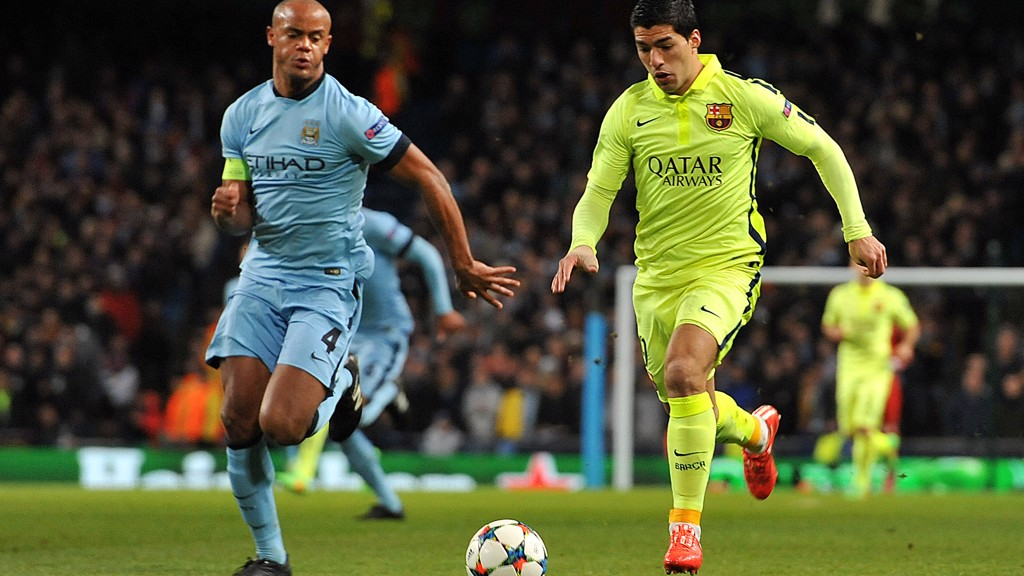 TARGET MAN: Reports suggest Luis Suarez is on Pep Guardiola's transfer wish list.