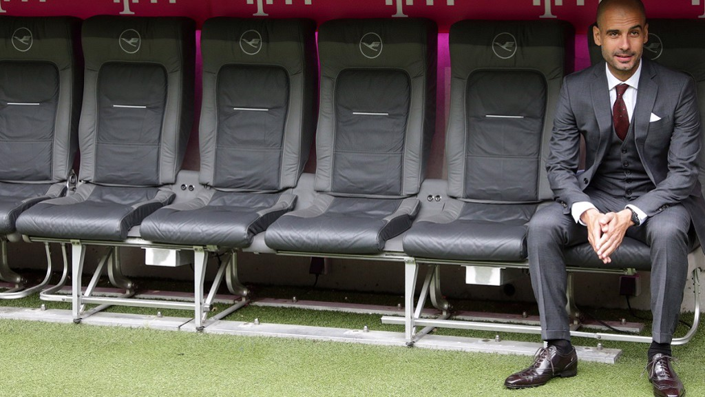 TEAM PEP: Guardiola names bench