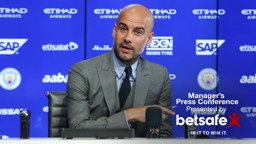 PEP TALK: Pep Guardiola stated he feels it's tough to compete in the Premier League