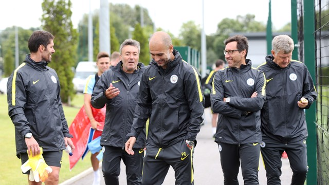 SQUAD GOALS: Pep making instant return to Allianz Arena