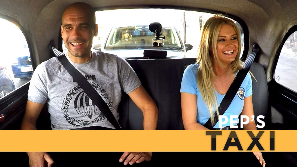 Pep's Taxi: Pep meets City fans