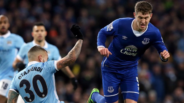 TRANSFER TALK: John Stones faced City several times last season, and is being linked with a move along the M62.