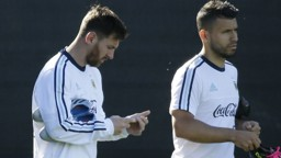 BROTHERS IN ARMS: Aguero & Messi will look to have Bolivia in dire straits in Seattle