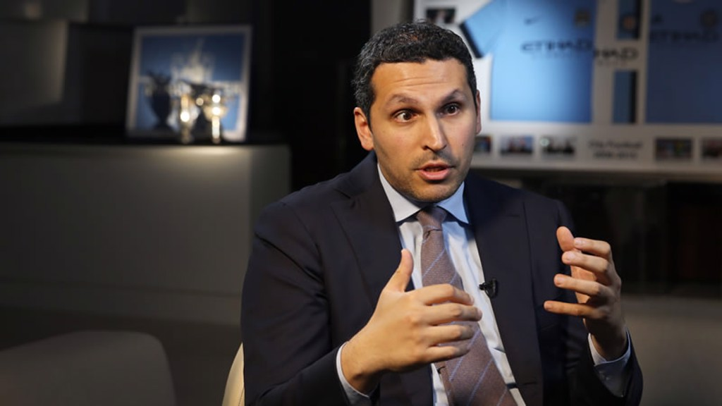 Chairman Khaldoon Al Mubarak Interview: Part 1/3