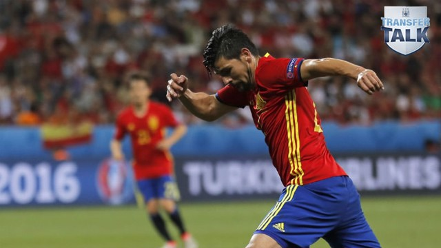 HOT PROPERTY: Nolito's name cropped up during Spain's Euro 2016 campaign