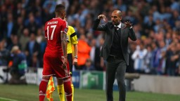 ORCHESTRATING: Pep conducting from the sidelines