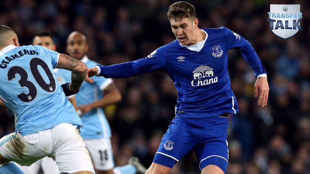 WANTED MAN? John Stones has frequently been linked with moves away from Goodison Park