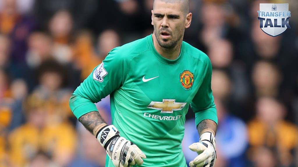 RED TO BLUE: Could former United man Victor Valdes move across the city?