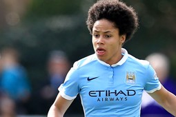 OFF THE MARK: Demi Stokes grabbed her first City goal against Chelsea