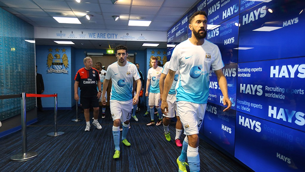 City v Arsenal: Tunnel Cam