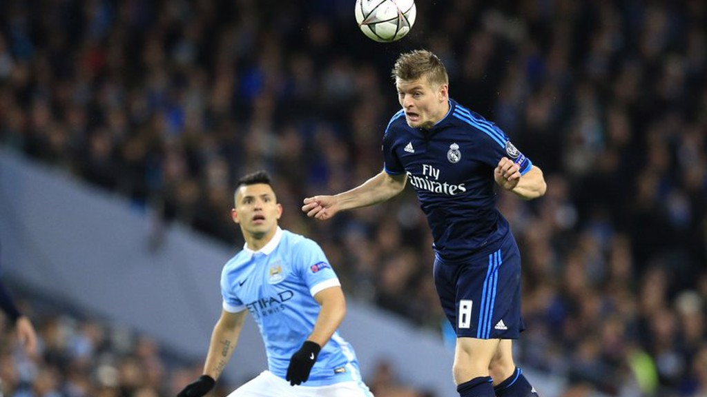 Real Madrid v City: Match highlights
