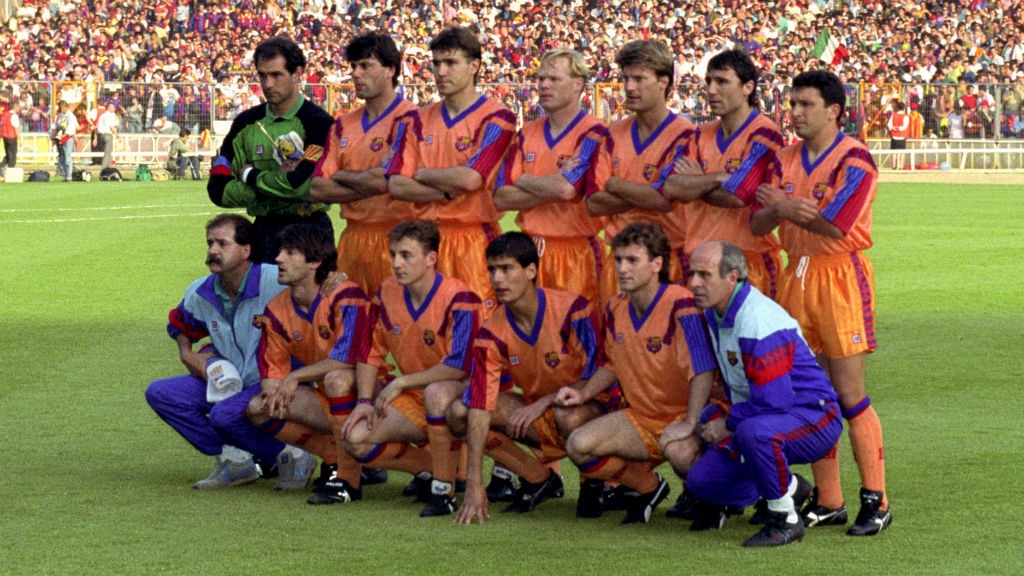 Barcelona team in 1992