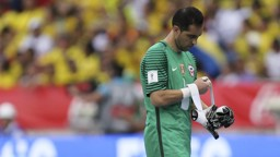 FORCED OFF: Claudio Bravo