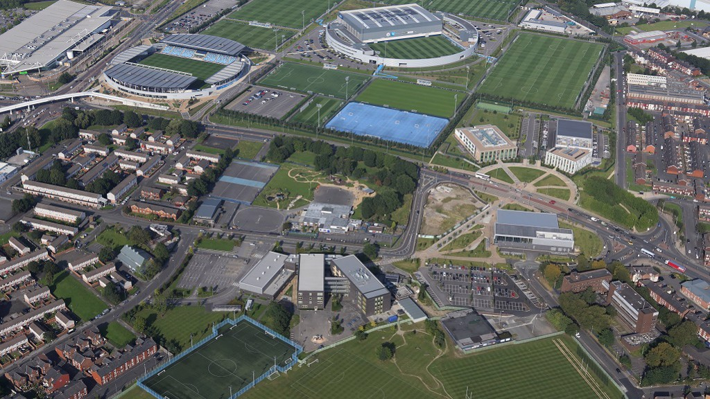 MCFC HQ from the skies