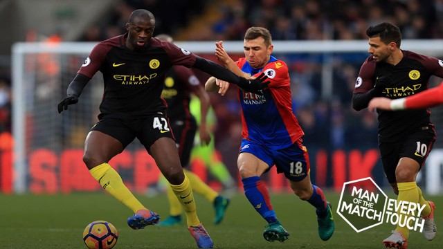 STELLAR PERFORMANCE: Yaya Toure
