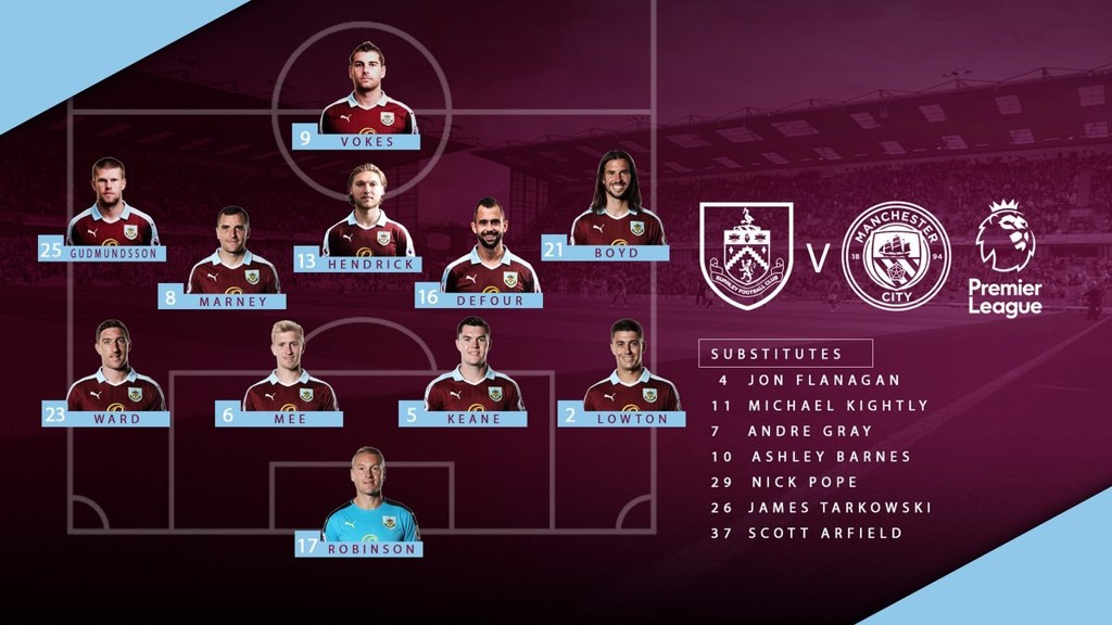 BURNLEY XI