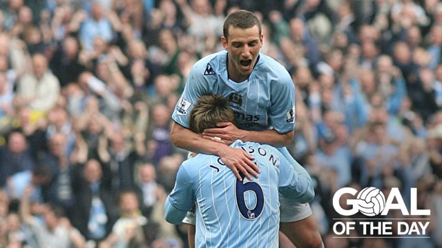 BEAUTY: Elano's strike helped City to a 3-1 win