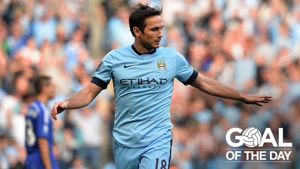 Goal of the Day: Lampard v Chelsea