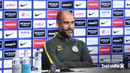 PREPARED: Pep is gearing himself up for Chelsea test