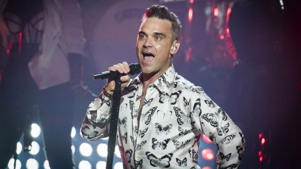 THIS SUMMER: Robbie Williams will play at the Etihad Stadium on Friday 2 June 2017.