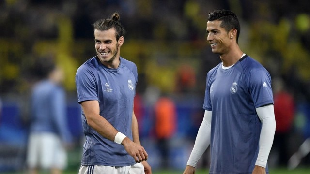 HERE TO STAY: Real Madrid want Gareth Bale and Cristiano Ronaldo to extend their stay at the Bernabéu.