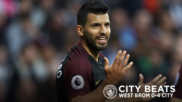 CITY BEATS: West Brom v City action