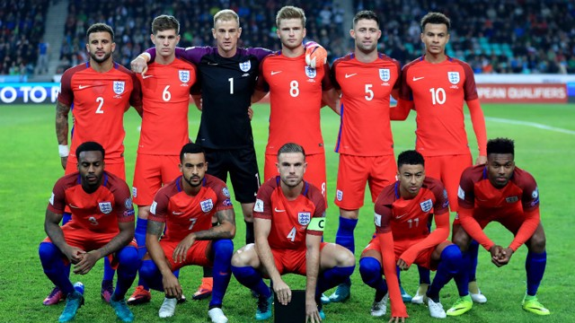 LINEUP: Stones lines up for England ahead of the Slovenia test