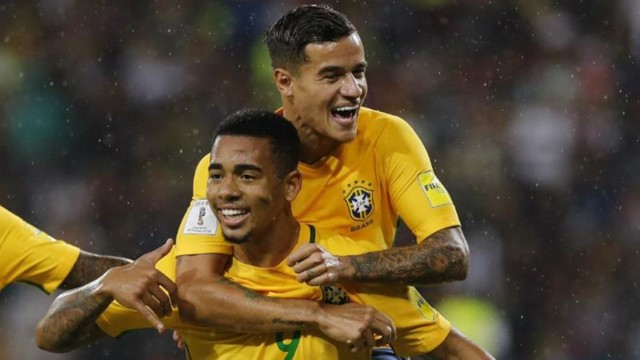 GABRIEL JESUS: The Brazilian viewed the CFA this week
