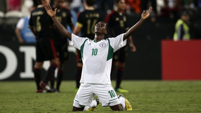 SPECIAL MOMENT: Kelechi celebrates as Nigeria are crowned world champions at U17 level