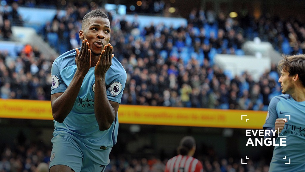 EQUALISER: Every angle of Kelechi's leveller.