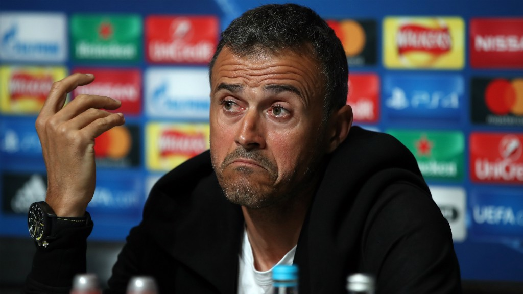 PRAISE: Luis Enrique is a huge fan of Guardiola