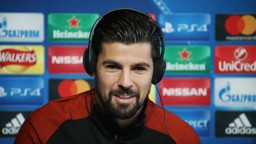 PREPARING FOR BARCA: Nolito