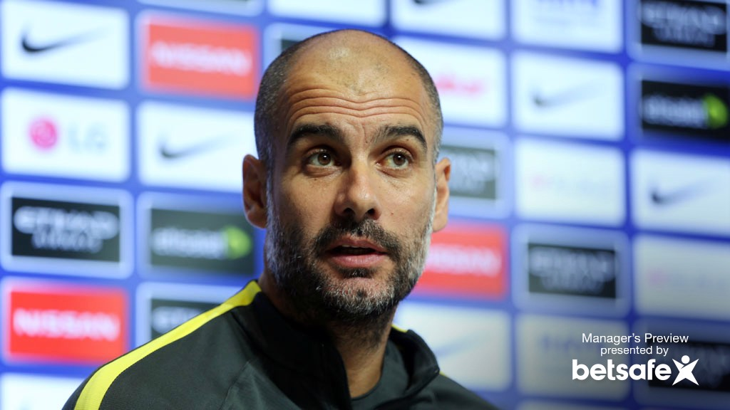 Pep reveals his thoughts on Conte and Chelsea