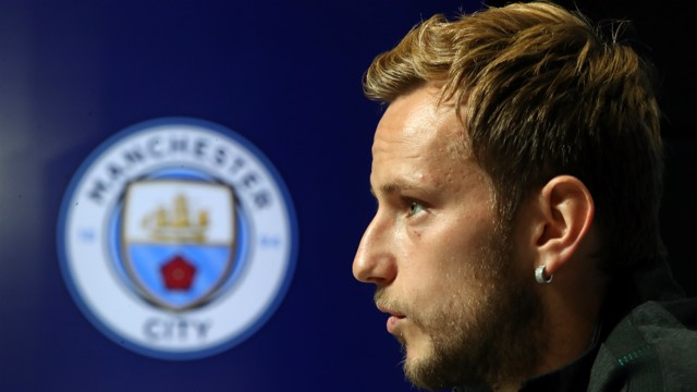 MEDIA ADDRESS: Barcelona's Ivan Rakitic previews Tuesday's Champions League clash at City Football Academy