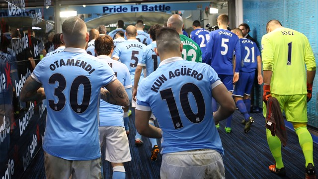 WE MEET AGAIN: City and Everton lock horns once more