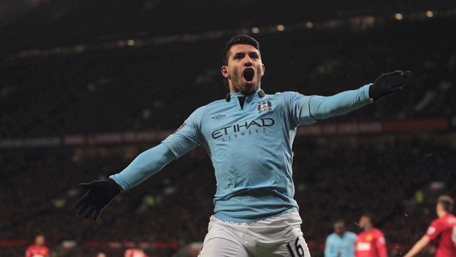 TOP FIVE: City goals at Old Trafford