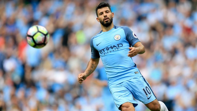 AGUERO: City's lethal striker will be forced to sit out on Saturday but who will replace him?