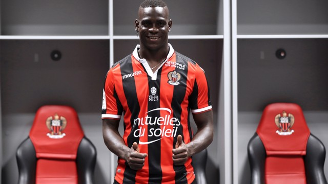 TWO FOR MARIO: Balotelli shines with two goals in Nice debut