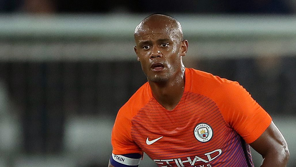 Vincent Kompany out of Swansea clash