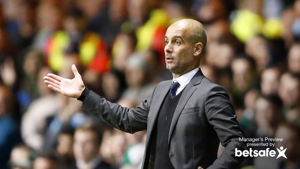 SPURS V CITY: Man City boss Pep Guardiola previews White Hart Lane trip
