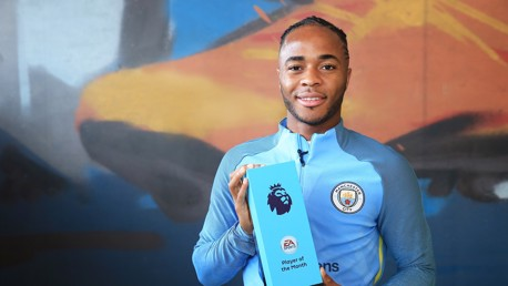 Sterling voted EA  SPORTS Player of the Month