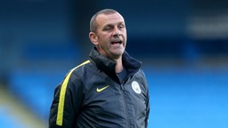 DAVIES: City's Premier League 2 boss is excited for the Manchester Derby weekend ahead