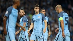 STONES: Defender making an early impact at the Etihad