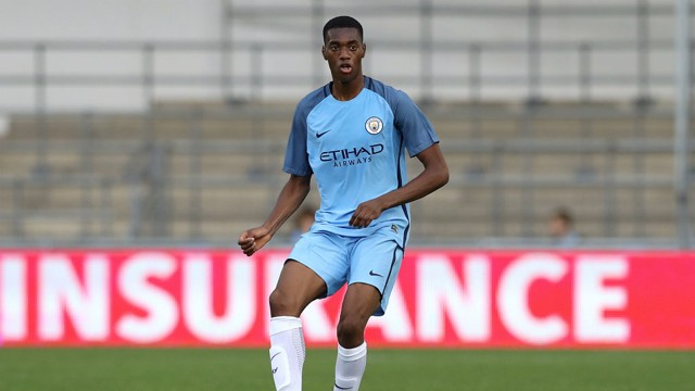 TOSIN: Adarabioyo has looked solid at the back for City so far this season.