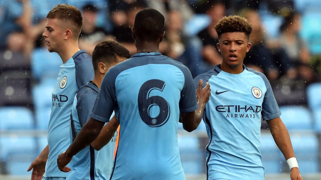 TEAMWORK: City's youngsters are impressing at the City Football Academy