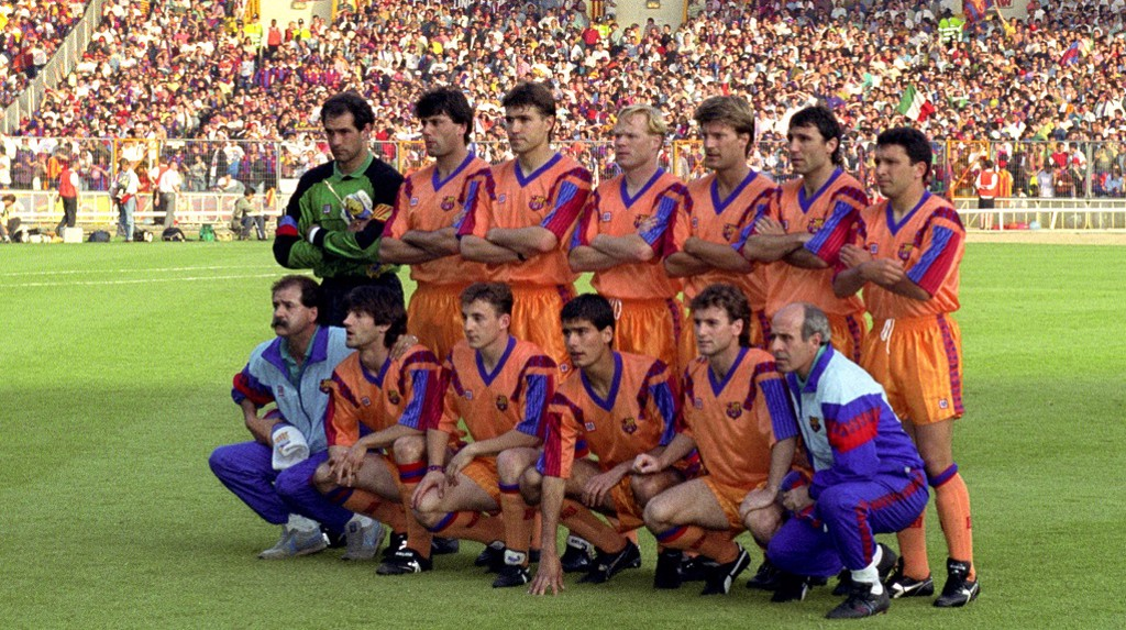 PEP IN 1992: Front row, third left