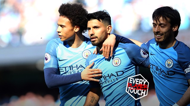 PERFECTION: City scored a beautiful goal involving all 11 players in the win over Hull