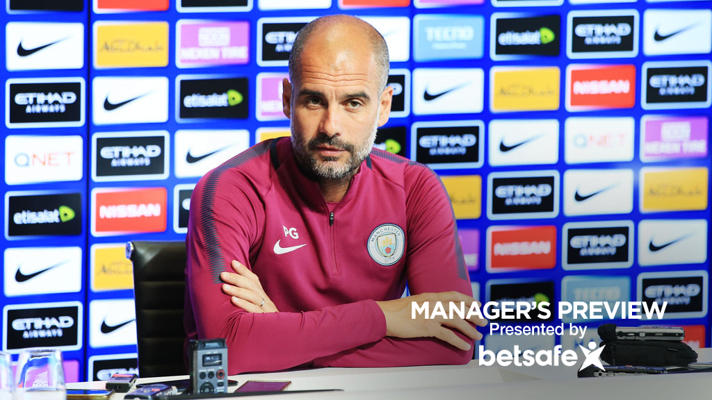 GUARDIOLA: Pep speaks to the media ahead of City's home opener against Everton