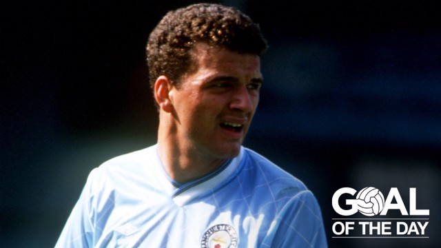 HAT-TRICK HERO: Paul Stewart was one of THREE players to net a treble against Huddersfield in 1987
