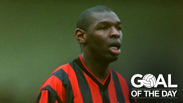 STRIKE: Shaun Goater scored to rescue a point against Huddersfield in February 2000.